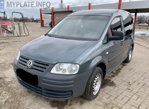 СВ6409ВА volkswagen caddy 2005 года