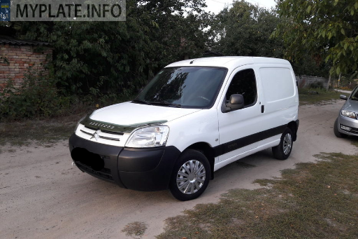 АВ0421ВТ citroen berlingo 2008 года