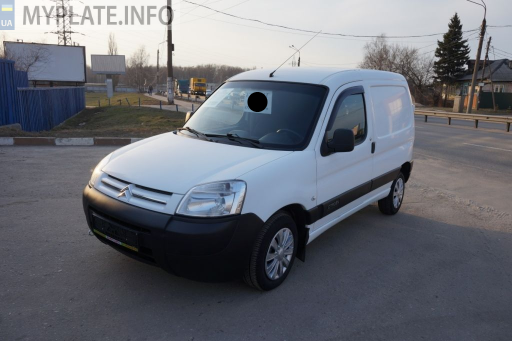 ВО4472ВВ citroen berlingo 2009 года