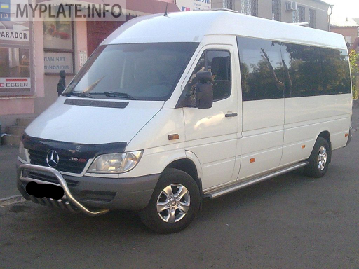 ВО4504АХ mercedes-benz sprinter 211 cdi 2005 года