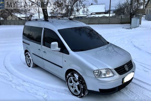 ВО7575АС volkswagen caddy 2008 года